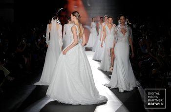 Vestidos de novia Rosa Clará 2019: romanticismo y elegancia