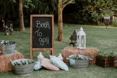 ¿Cerveza en el casamiento? 5 tips que deben tener en cuenta