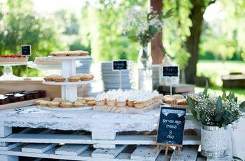 ¿Cómo decorar la mesa dulce del casamiento? Consejos para que sea irresistible