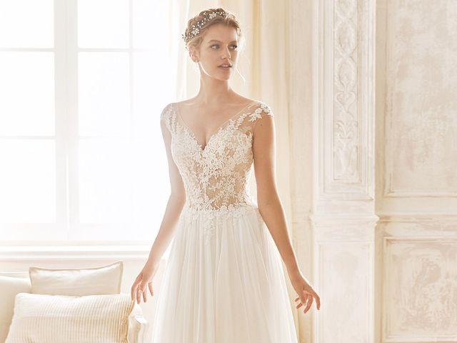 50 vestidos de novia plisados para las novias más elegantes
