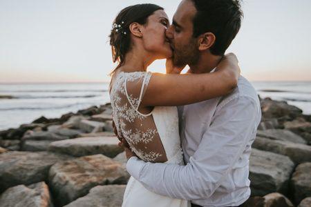 """10 ideas románticas para el beso después del """"Sí"""""""