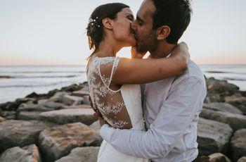 """10 ideas románticas para el momento del beso después del """"Sí"""""""