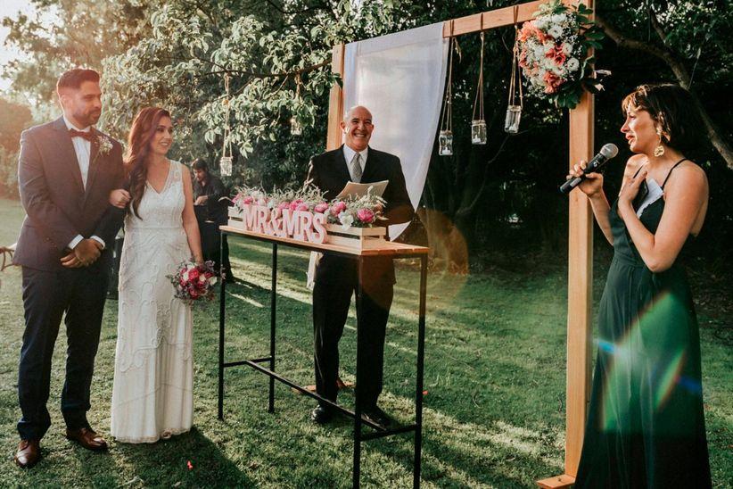 El casamiento de Leonardo y Carola