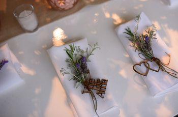 Personalicen las servilletas de su casamiento con estas ideas fáciles y originales
