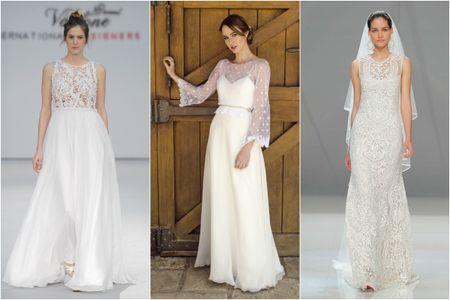 55 vestidos escote ilusión que te van a enamorar