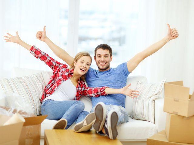 Lecciones de pareja cuando amueblan el nuevo hogar