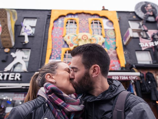 Susana y Paco: una preboda en Londres con pedida de casamiento incluida