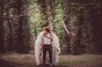 Sara y Micheal: un casamiento en el país de las maravillas