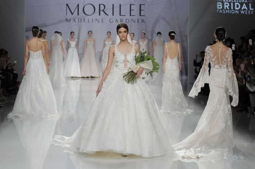 aa9d9fb57 Vestidos de novia Mori Lee 2018  pura inspiración neoyorkina