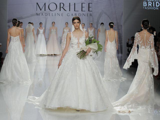 Vestidos de novia Mori Lee 2018: pura inspiración neoyorkina