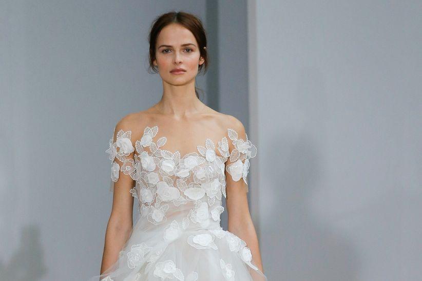 vestidos de novia oscar de la renta 2018: modernidad y dulzura