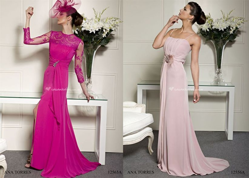 Coleccion vestidos de fiesta ana torres