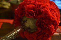 DIY topiario de flores de papel
