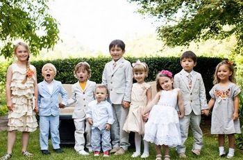 5 ideas para distraer a los niños en el casamiento