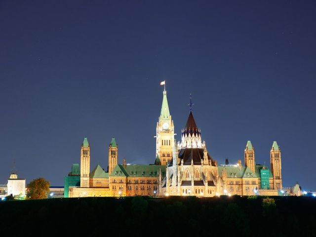 Luna de miel en Canadá