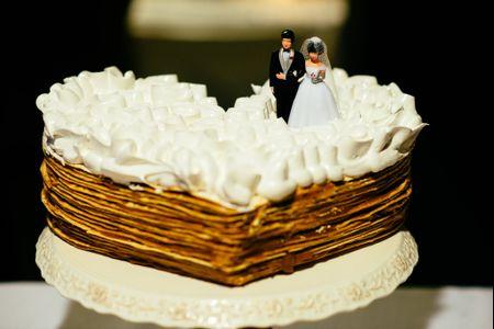 Reglas de protocolo para la torta de los novios