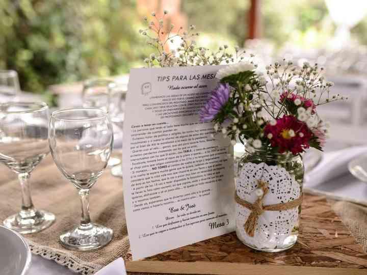 Ahorrá en la decoración del casamiento con estos 5 consejos