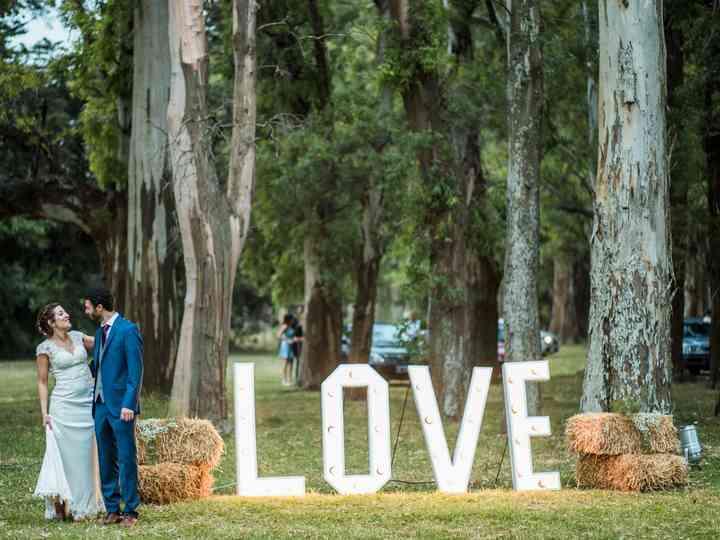 ¡Decorá tu casamiento con letras gigantes!