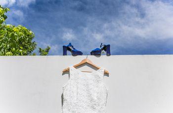 """5 razones para que tu """"algo azul"""" sean los zapatos de novia"""