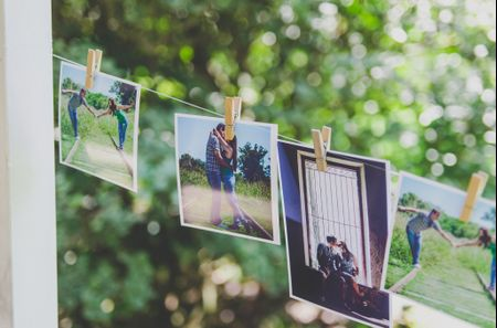 6 ideas para decorar tu casamiento con fotos