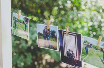 6 ideas para decorar tu casamiento con fotos