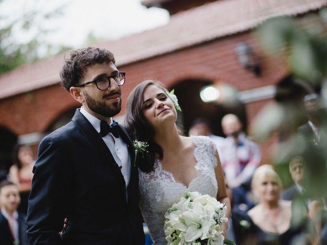 Al aire libre y de estilo rústico, así fue el relajado casamiento de Macarena y Leandro