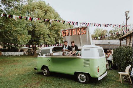 Food trucks: tendencia culinaria sobre ruedas para su casamiento