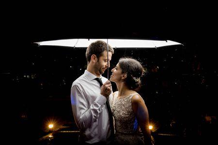 ¿Lluvia? 9 preparativos y consejos para que no arruine su casamiento
