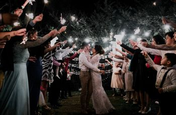 ¡A brillar, mi amor! Ideas para incluir estrellitas en la ceremonia