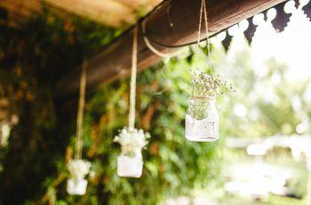 6 formas muy románticas de incluir blondas en la decoración del casamiento