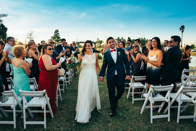 6 consejos para hacer una ceremonia al aire libre