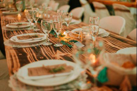 9 imprescindibles para la decoración de las mesas del casamiento