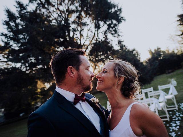 El casamiento de Jaco y Belén, cuando el amor gana a pesar de la distancia