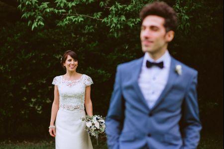 ¿Por qué el novio no puede ver a la novia antes del casamiento?