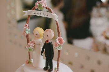 Muñequitos de torta: 35 ideas originales para contar su historia de amor