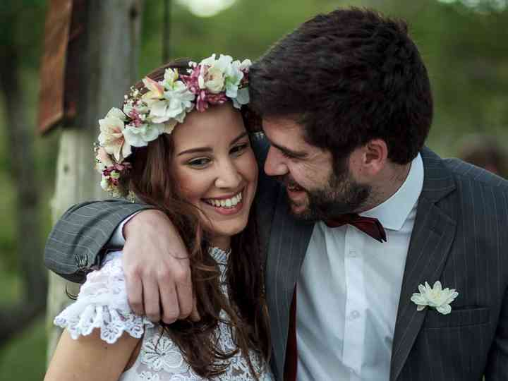 El casamiento de Guille y Sofia: un amor verdadero que venció a la distancia
