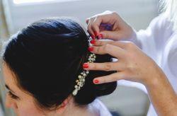 Peinados de novia para casamientos en verano