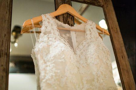Los tipos de encaje de los vestidos de novia
