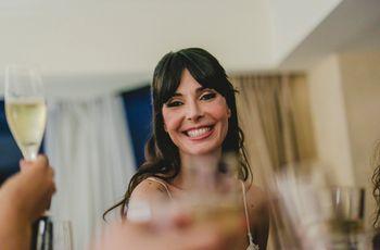 Peinados con flequillo: perfectos para novias fieles a su estilo