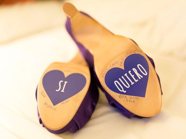 Decoración hasta en la suela de los zapatos