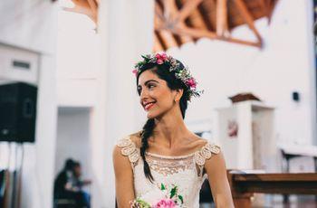 20 peinados informales para novias naturales