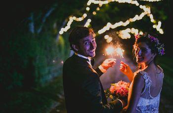 ¿Casamiento de noche? Lean estos 7 consejos