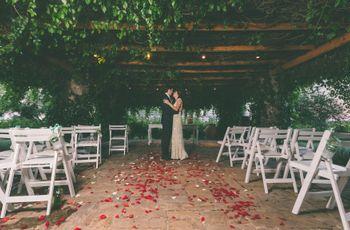 6 ideas con encanto para decorar el pasillo de tu casamiento