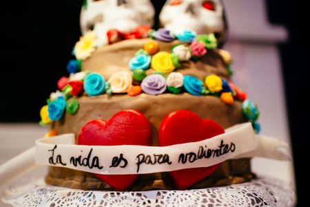 Mu�ecos para el pastel de bodas