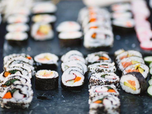 Barra libre de Sushi: ¡cocina oriental en tu casamiento!