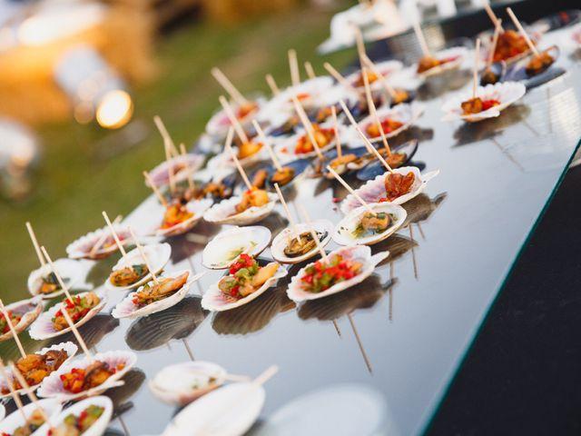 6 opciones informales para el menú del casamiento