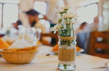 """6 lindas ideas """"low cost"""" para un casamiento único"""