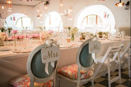 10 ideas para decorar la mesa de los novios