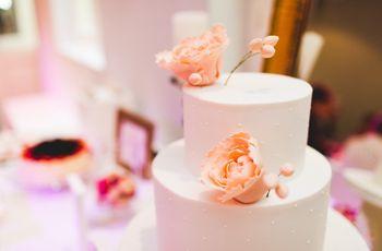 35 tortas de casamiento sencillas: delicias singulares