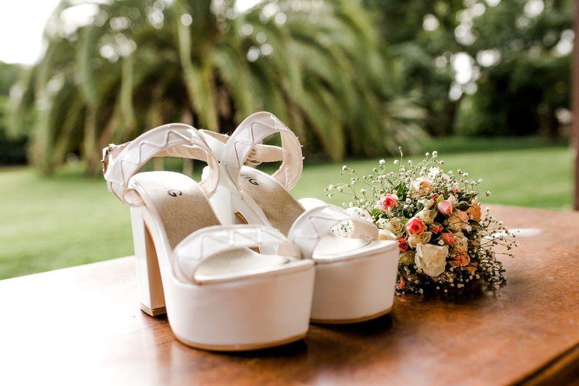 30 zapatos de novia con plataforma: comodidad y elegancia para tu look